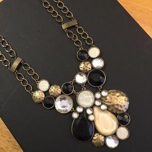 Jewelry - Banana Republic Stone Cluster Statement Necklace